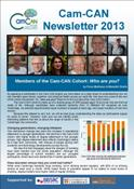 Cam-CAN Newsletter 2013